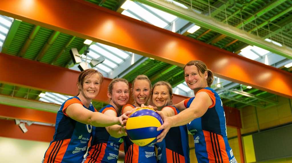 Energiegewinner: Die Volleyballdamen des VV Meiningen