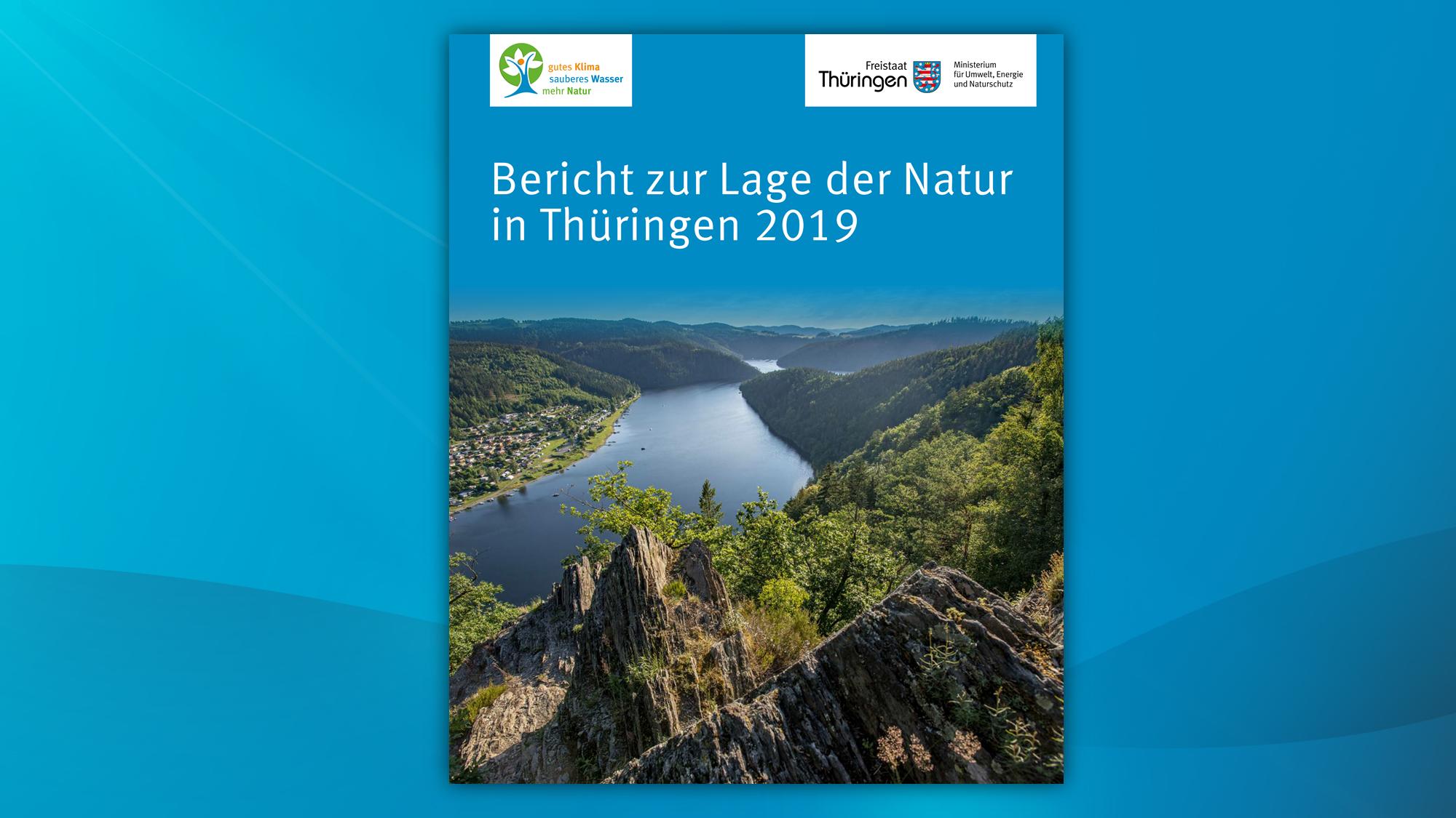 Titelseite: Bericht zur Lage der Natur 2019
