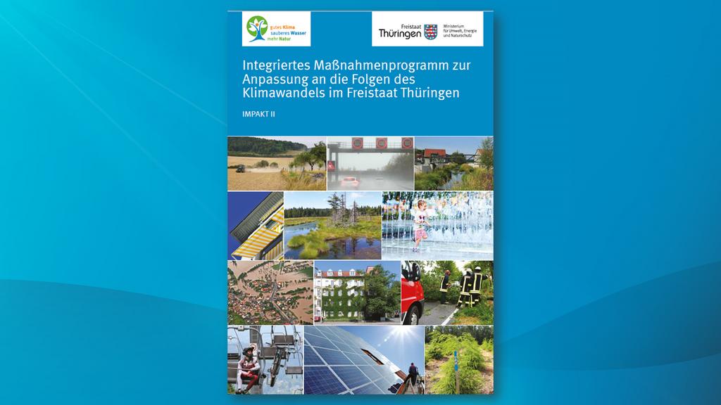 Titelseite des Thüringer Programms zur Anpassung an die Folgen der Klimakrise