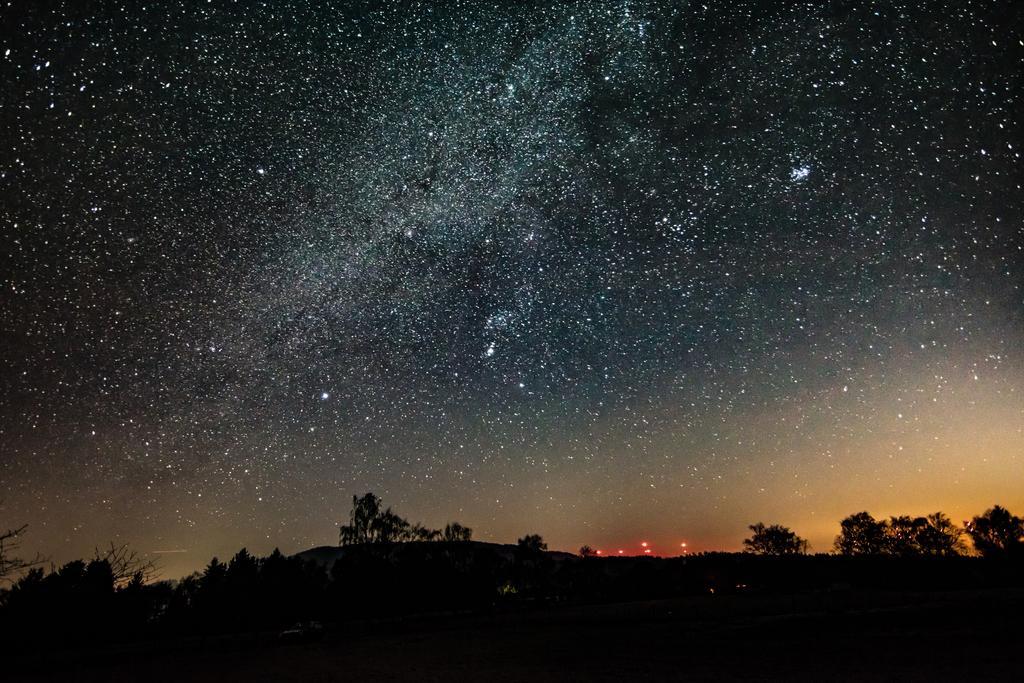 Nachtaufnahme der Milchstraße