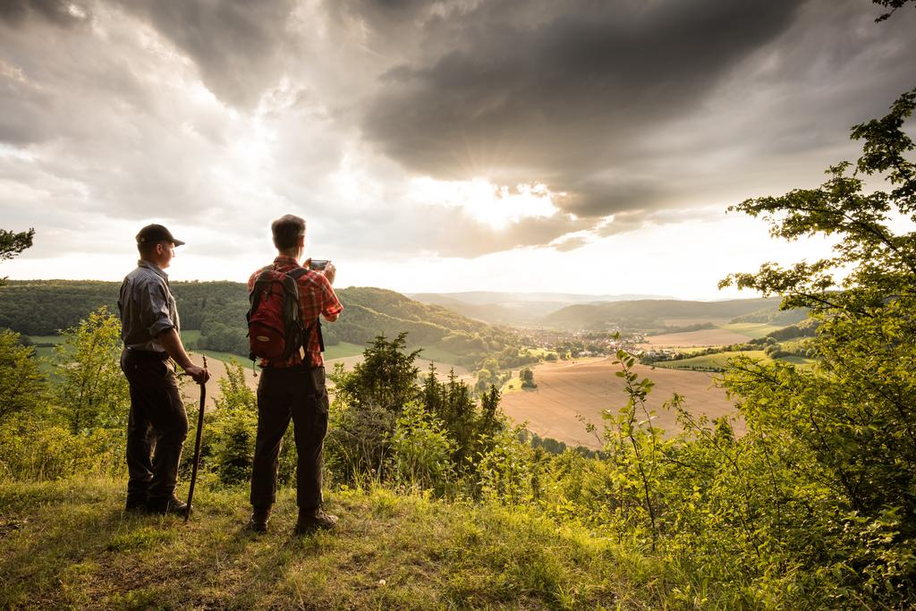 Wandern im Naturpark (Foto: T. Sieland)
