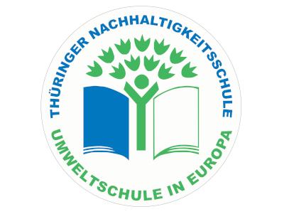 Logo: Umweltschulen in Europa - Thüringer Nachhaltigkeitsschule