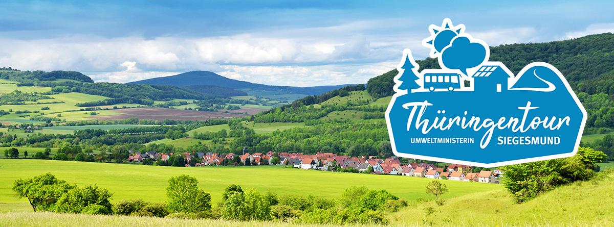 Miteinander reden - Thüringentour von Umweltministerin Siegesmund