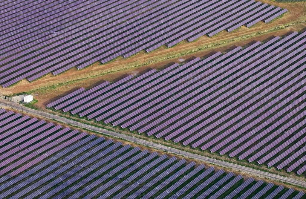 Freiflächen-Solaranlage