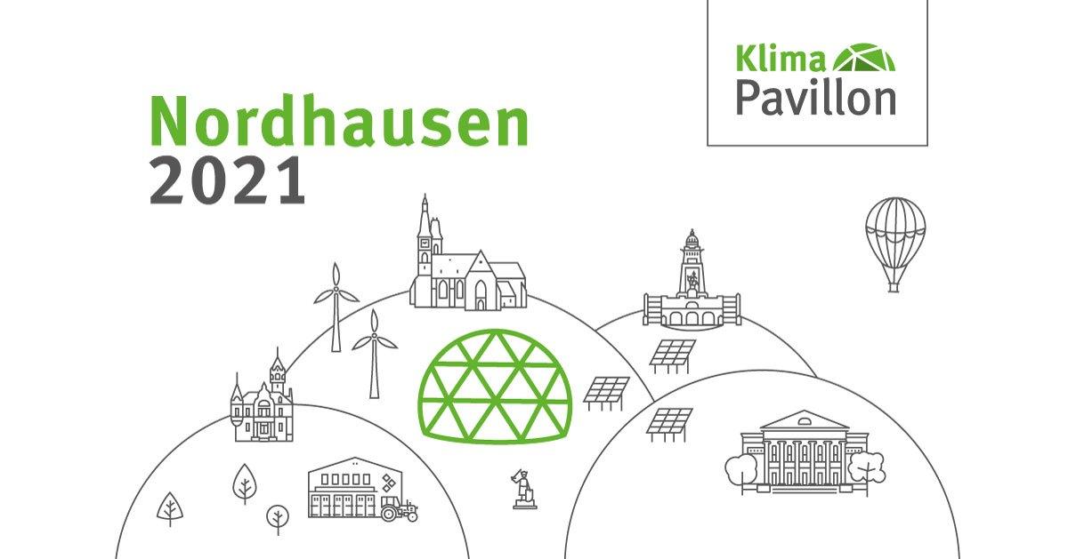 Klima-Pavillon 2021 in Nordhausen
